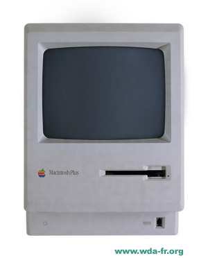 Apple Macintosh Plus 1Mb Model. M0001AP (Platinum)