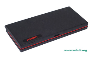 POQET The Poqet PC model. PQ0184